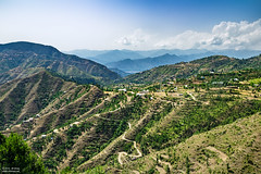 Asmani View (Ali Ishaq Photography) Tags: pakistan wallpaper sky green landscape scenery view natural fields swat mingora swatvalley kpk khyberpakhtunkhwa asmanimor