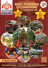 23 July 2016 Guru Purnima Celebration at Cossington Park Leicester (kiranparmar1) Tags: park religious indian leicester events july celebration posters 23 hindu flyers guru purnima 2016 discusion taks cossington