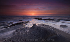 Alien in the Reef (sjs61) Tags: seascape landscapes surf sunsets lajolla sunrays slowexposure steveskinner hospitalsreef steveskinnerphotography sjs61 alienshead whitewaterflow