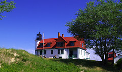 Point Betsie Lighthouse (Rick Lanting) Tags: lighthouse michigan michiganlighthouse pointbetsielighthouse lighthousetrek
