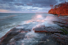 Against the Wind: Lake Erie (Richard Thompson) Tags: lake water lakeerie wind lakeshore