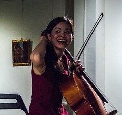 Laughing Happy Cellist (simmosimpsonphotography) Tags: cello cellist smile acoustic