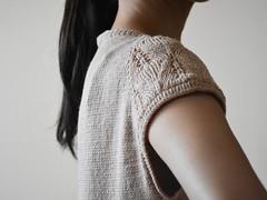 Asagi by Bristol Ivy from amirisu issue 10 (Ririko1010) Tags: pullover handknitting handknit knitting knittingart knitwear summer sweater
