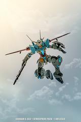 From the sky (I AM LESLIE) Tags: toy robot model sony creative 55mm gundam bandai modelkit gunpla tamashii gself robotspirits reconguista