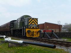 ELR BR Class 14 D9531 Ernest 07052016e (Rossendalian2013) Tags: train railway locomotive preserved ernest elr shunter ncb britishrailways eastlancashirerailway rawtenstall dieselhydrauliclocomotive class14 nationalcoalboard swindonworks d9531
