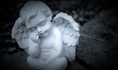 Much-needed rest (Perfect Day_) Tags: angel faith religion culture cherub protector canoneos600d