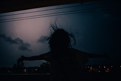 Storm (alexander,v) Tags: summer sky woman storm girl danger canon dark freedom balcony lightning 2470l