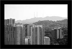 TWB_1138 (xxtreme942) Tags: bw monochrome blackwhite nikon singapore hill architectural highrise block hdb housingestate nikon70200mm