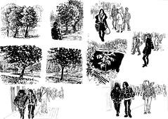 1583 ( ) Tags: 365      edding brushpen kalachevaschoolonline kalachevawebinar people sketches urban   landscape