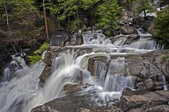 Every Drop Has a Place (lightonthewater) Tags: trees river waterfall rocks view yosemite cascades yosemitenationalpark runoff