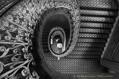 seattle-downtown-architecture-6-10-2016-9429-Edit (m.torkildsen) Tags: seattle architecture stairs spiral golden stairway ratio