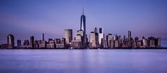 F R E E D O M (wilsonaxpe) Tags: newyork freedom freedomtower usa thebigapple longexposure new jersey