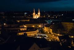 Vrbl (zsolesz_93) Tags: 30mm city night eger hungary nikon nikond3200 nikkor1855 iso3200 vr castle