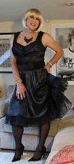 Black petticoats (bethany_labelle) Tags: dress tgirl transvestite silky stilettos petticoats