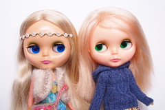 ADG & Kenner (Tales of Karen) Tags: vintage doll blonde kenner blythe 1972 comparison adg ashtondrakegalleries