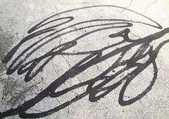 road art (Photo Op!) Tags: road art lines swirls tar