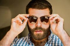 479 (rrttrrtt555) Tags: hair hairy chest arms hands beard shirt glasses sunglasses masculine plaid