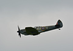 Supermarine Spitfire Mk LF XVIE (NickS1966) Tags: nikon fighter aviation airshow lf spitfire tamron mk cosford supermarine 2016 bbmf xvie d7100 150600mm