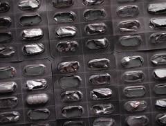 Happy days. (melan.cholerikerin) Tags: blackandwhite bw detail macro monochrome canon reflections germany happy patterns happiness structure minimal german depression reflective expressive sw macabre minimalism schwarzweiss shadesofgrey bnw medication meds antidepressants canonpowershot mentalillness schwarzweis germanartists repetitivepatterns canonpowershotsx20is