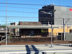 The old railway parcel office at Strathfield railway station stands proudly today, Sydney NSW (davemail66) Tags: new wales south transport sydney strathfield parceloffice