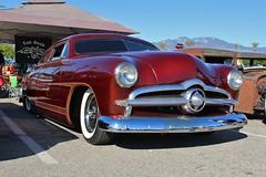 Mooneyes X-Mas Party 2015 (USautos98) Tags: 1949 ford shoebox traditionalhotrod streetrod kustom scalloppaint