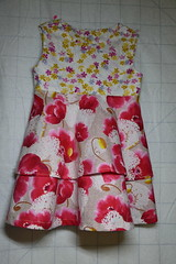 For Elise (shireye) Tags: flowers dress elise buttons homemade fancy
