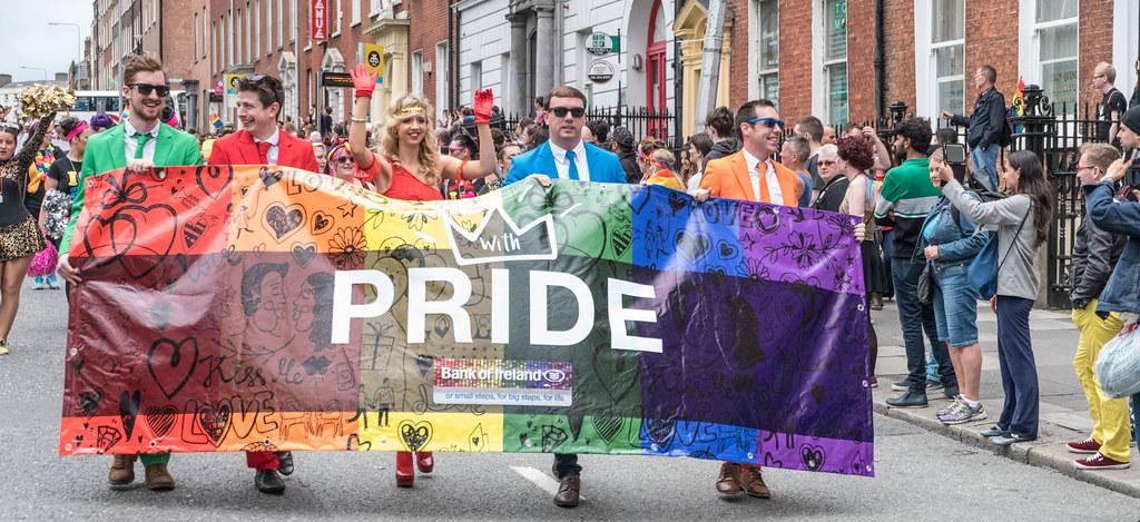 PRIDE PARADE AND FESTIVAL [DUBLIN 2016]-118168