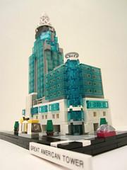 Great_American_Tower_4 (TheWarden007) Tags: lego contest moc eurobricks greatamericantower cincinnati ohio