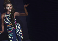 938 (Carley Benazzi) Tags: bowie mesh events makeup boutique accessories no7 letre nuunas inspirationevent moderncouture karlaboutique {letituier}