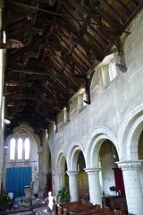 Tilney, All Saints - Norfolk (Glass Angel) Tags: church angel norfolk nave angels hammerbeamroof tilneyallsaints angelroof