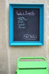 Take 5 (in explore Thank you so much!!!!!) (Bluefab) Tags: menu restaurant snack bagel tableau tarte chaise carte quiche boisson