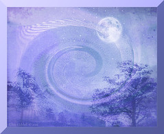 """Once in a blue moon....."" (Elisafox22) Tags: elisafox22 sony ilca77m2 100mmf28 macro macrolens telemacro sliderssunday hss blue vortex landscape moon sky trees photomanipulation photoshop ipad texture postprocessing photomanipulated textures elisaliddell2016 exoticimage"