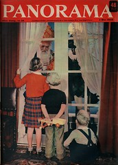 Panorama, cover  4 dec  1953. Sinterklaas (janwillemsen) Tags: sinterklaas panoramamagazinecover1953