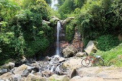 My Bike & Unknown Waterfall (denmasbrindhil) Tags: bicycle waterfall yogyakarta bicycletouring daytrip magelang selo muntilan mountmerapi boyolali mountberbabu