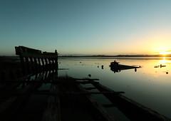 In blue (nalamanpics) Tags: blue seascape colour reflection nature water beautiful sunrise day clear devon turflock riverexe mygearandme mygearandmepremium mygearandmebronze mygearandmesilver sunrise2013