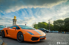 Lamborghini Gallaro LP550-2 Balboni (Fast-Auto.fr) Tags: auto city friends light sky urban orange sun paris france color art fashion festival clouds canon geotagged fun photography photo europe raw 2000 day tour photos fast grand ciel mans le palais bugatti circuit lamborghini hdr gallardo valentino iphone optic photomatix balboni tourauto 2013 fastauto 2ooo lp550 iphoneography lp5502 fastautofr tourautooptic2ooo