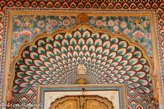 Jaipur City Palace (leon_roland) Tags: india museum peacock adventure jaipur oat citypalace