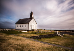 little church (JorunnSjofn) Tags: ocean sea nature landscape south chruch le nd southcoast kirkja selvogur strandarkirkja nd110 orlkshfn suurstrandarvegur httpswwwfacebookcomjorunnsjofnphotography httpjorunnsgwixcomjorunnsjofn