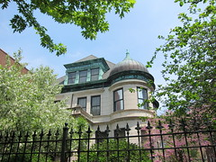 cool onion dome in Kenwood (sassnasty) Tags: chicago walking tour neighborhood hood kenwood hoods