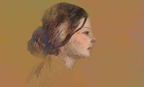 "Las Madeleines escuchando la soleada soledad, descripciones de Henri de Toulouse Lautrec (1889) y Pablo Picasso (1904). • <a style=""font-size:0.8em;"" href=""http://www.flickr.com/photos/30735181@N00/8805127883/"" target=""_blank"">View on Flickr</a>"