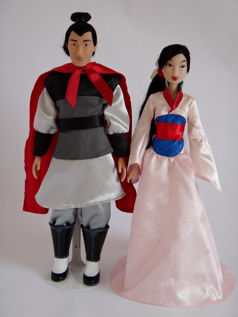 2012-2013 Mulan Movie Cast Dolls - Disney Store - Li Shang and Mulan (  sc 1 st  Fiveprime & The Worldu0027s most recently posted photos of 2012 and mulan - Flickr ...