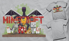 My submission for the Unsung Heroes of Minecraft T-Shirt Contest. (Minecraft Server Finder) Tags: list server servers minecraft minecraftserverfindercom