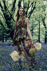 (GARETHRHYS.COM) Tags: flowers blue trees light red portrait motion flower colour green nature floral girl beautiful beauty leaves fashion yellow bluebells wales female youth digital forest canon hair landscape photography gold dance clothing movement model woods soft colours shadows dress spectrum dancing natural emotion bokeh britain expression vibrant pastel dream young makeup style location clothes fantasy portraiture ethereal editorial dreamy colourful delicate bluebell gareth rhys styling whimsical illamasqua