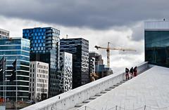 Oslo|8 (Simone.Oliva) Tags: wood blue sea sky white house black color oslo norway museum architecture photography opera folk norvegia museet operahuset fearnley astrup nasjonal