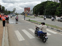 Mysore, Karnataka road safety demonstration corridor