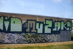 graffiti (wojofoto) Tags: holland graffiti nederland netherland trackside wojofoto