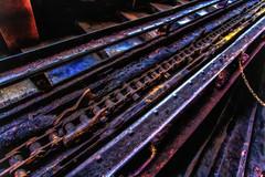 pulling your chain (Blende57) Tags: essen worldheritagesite zollverein weltkulturerbe northrhinewestphalia zollvereincolliery conveyorchain frderkette