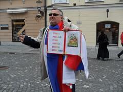 SAM_2421 (MZaplotnik) Tags: signs square town events ljubljana language banners demonstrations protests punt slovene prvi