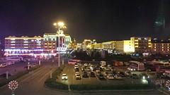 Yanji Railway station area at night (Ray Cunningham) Tags: station night noche nacht railway 中国 nuit notte 밤 ночь 夜 yanji 延吉연길