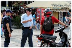 The Authority (Kevrekidis) Tags: streetphotography police athens greece grecia atenas griechenland deviantart grce polizei athene policia policeman athina  pol